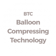 Balloon-compression-technology